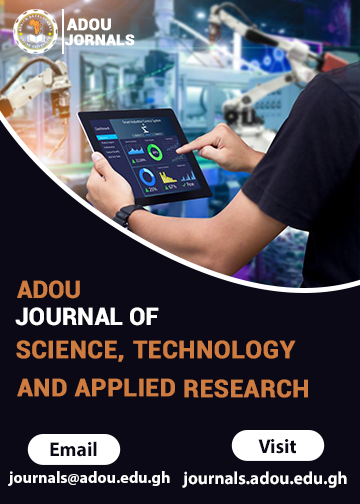 ADOU Journal of Science, Technology and Applied Research
