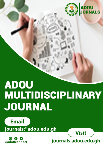 ADOU Multidisciplinary Journal